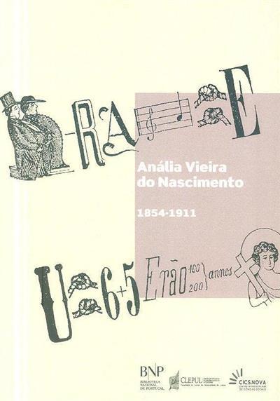 Anália Vieira do Nascimento, 1854-1911 (estudo e antologia Beatriz Weigert)