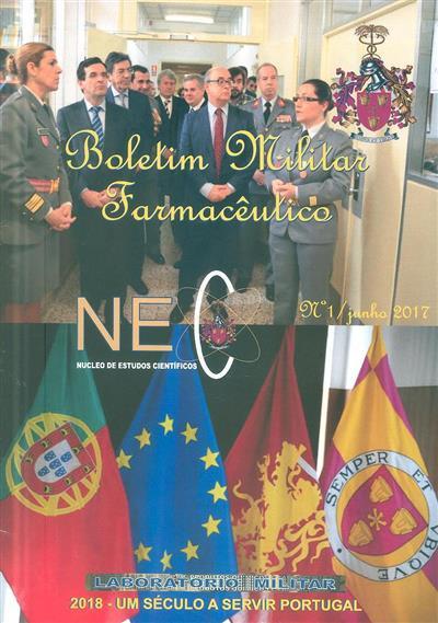 Boletim militar farmacêutico (propr. Laboratório Militar de Produtos Químicos e Farmacêuticos)