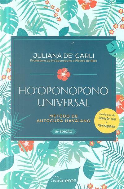 Ho'oponopono universal (Juliana De'Carli)