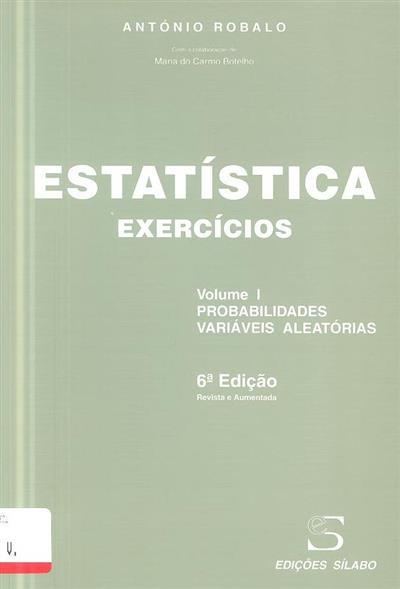 Estatística (António Robalo)