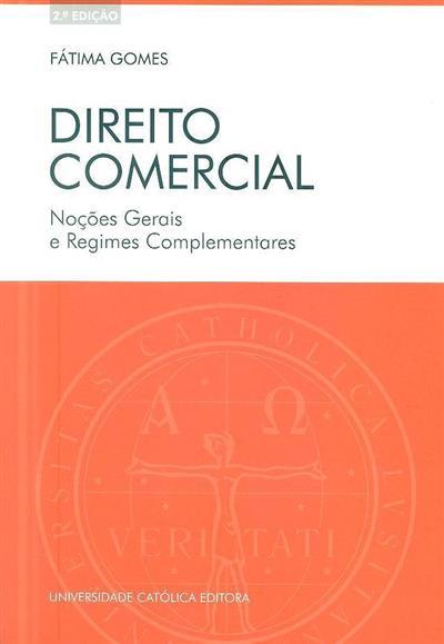 Direito comercial (Fátima Gomes)