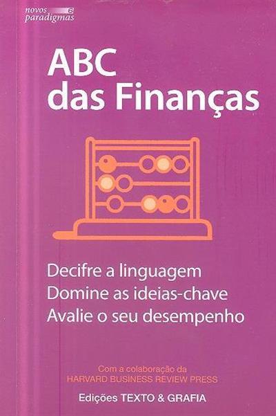 ABC das finanças (colab. Harvard Business Review Press)