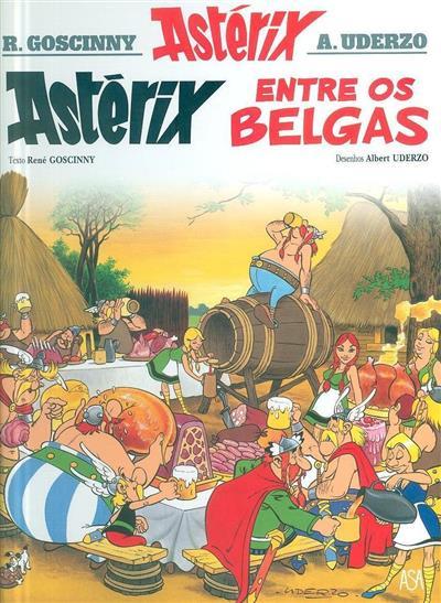 Astérix entre os belgas (texto René Goscinny)