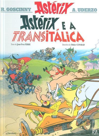 Astérix e a Transitálica (texto Jean-Yves Ferri)