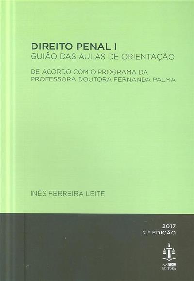 Direito penal (Inês Ferreira Leite)
