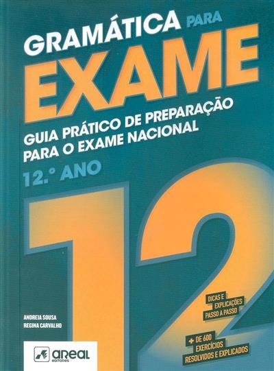 Gramática para exame (Andreia Sousa, Regina Carvalho)