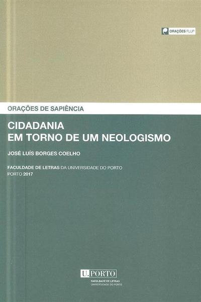 Cidadania em torno de um neologismo (José Luís Borges Coelho)