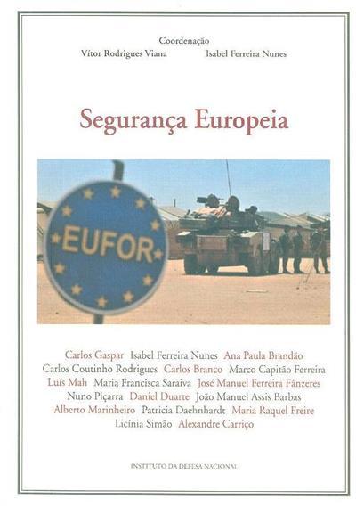 Segurança europeia (Carlos Gaspar... [et al.])