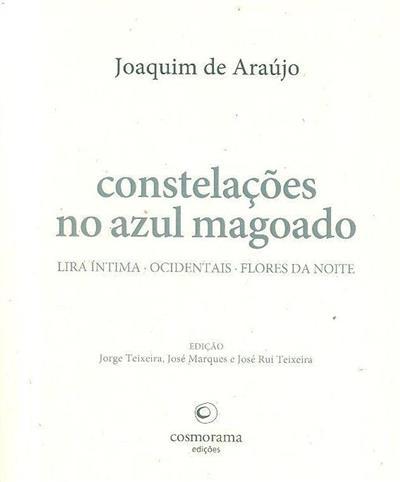 Constelações no azul magoado (Joaquim Araújo)