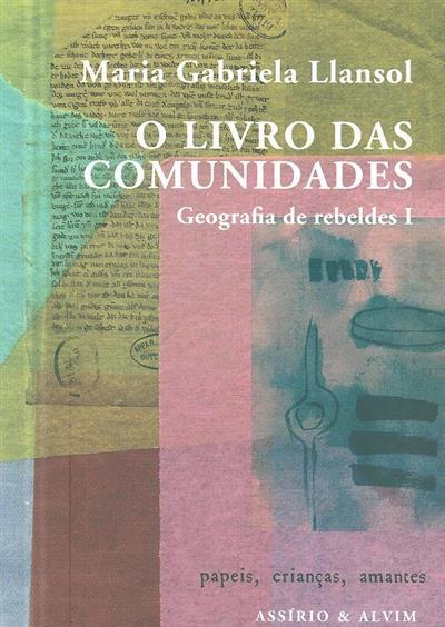 O livro das comunidades (Maria Gabriela Llansol)