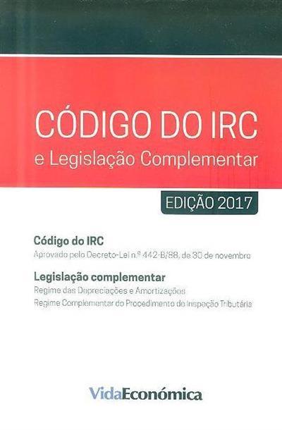 Código do IRC e legislação complementar
