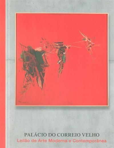 Leilão de arte moderna e contemporânea