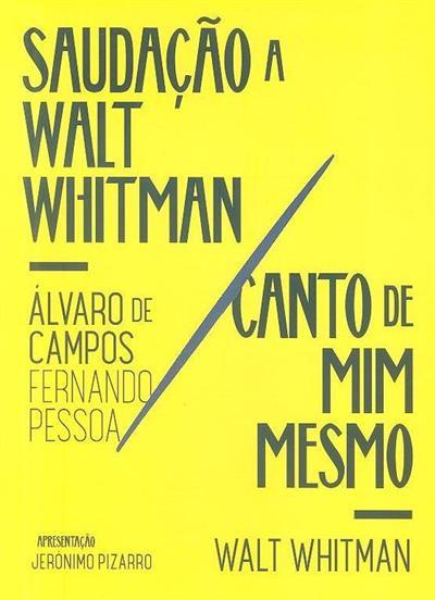 Saudação a Walt Whitman (Álvaro de Campos)