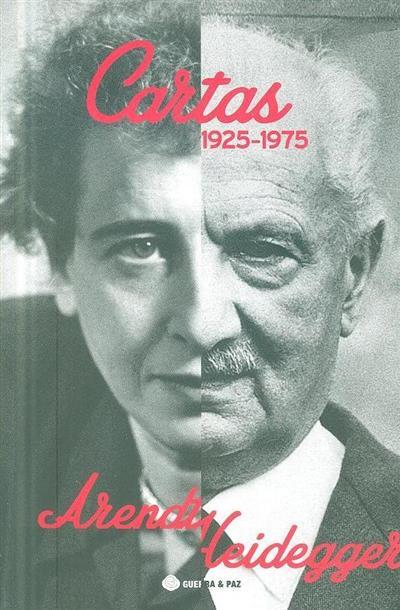 Cartas 1925-1975 (Hannah Arendt, Martín Heidegger)