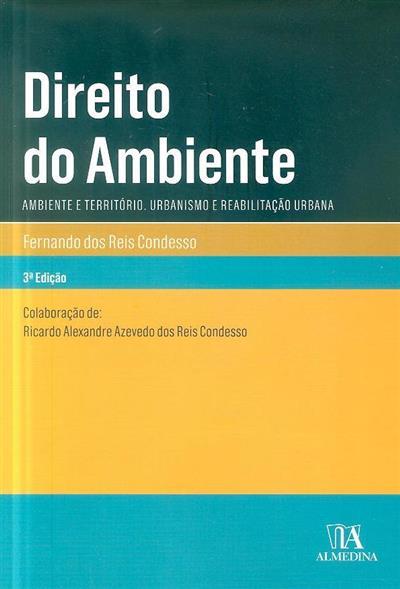 Direito do ambiente (Fernando Reis Condesso)