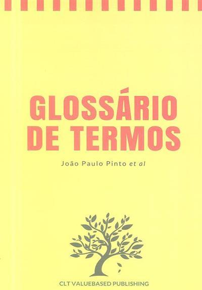 Glossário de termos (João Paulo Pinto)