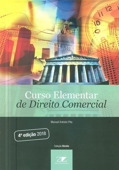 Curso elementar de direito comercial (Manuel António Pita)