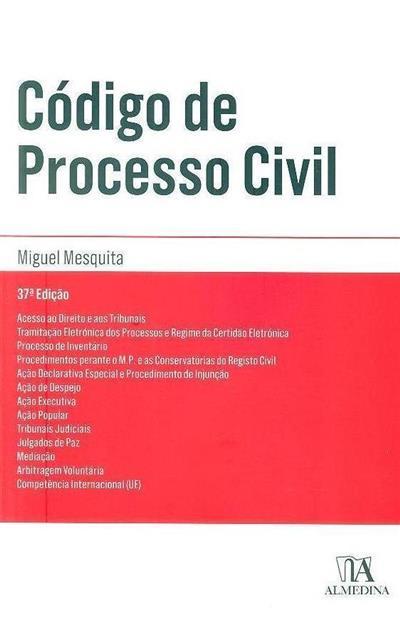 Código de processo civil (org. Miguel Mesquita)
