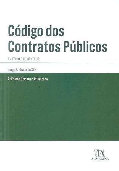 Código dos contratos públicos (Jorge Andrade da Silva)