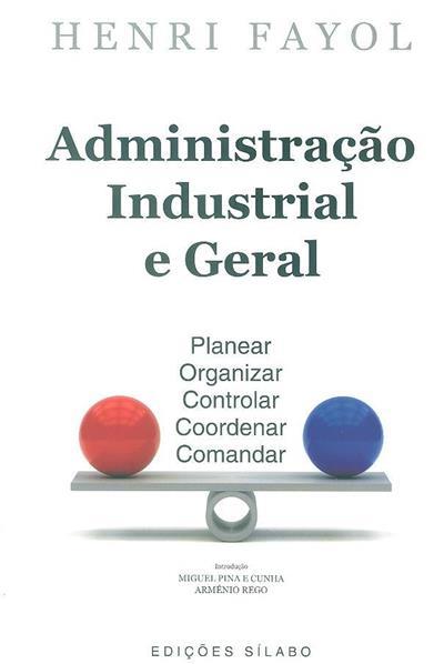 Administração industrial e geral (Henri Fayol)