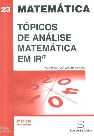 Tópicos de análise matemática em Rn (Altino Santos, Sandra Ricardo)