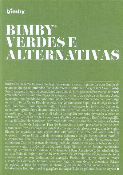 Bimby, verdes e alternativas (coord. Catarina Passos, Margarida Ferrador)