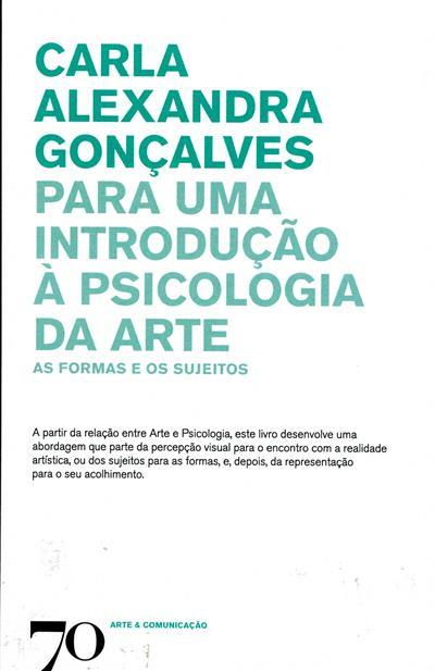 Para uma introdução à psicologia da arte (Carla Alexandra Gonçalves ?)