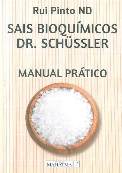 Sais bioquímicos Dr. Schussler (Rui Pinto)
