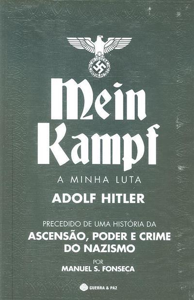 A minha luta (Adolf Hitler)