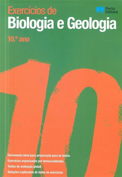 Exercícios de biologia e geologia, 10º ano (Clara Vasconcelos, Vítor Silva, Joana Faria)