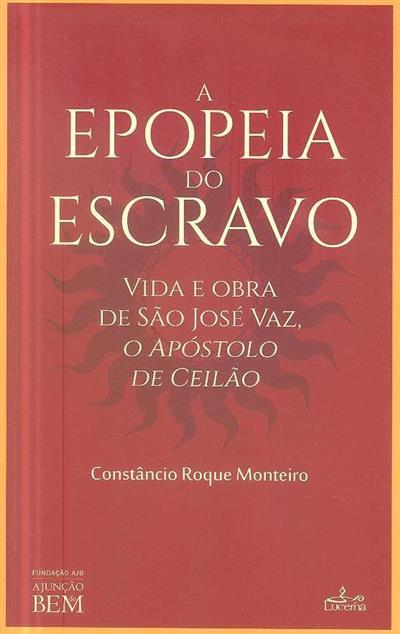A epopeia do escravo (Constâncio Roque Monteiro)