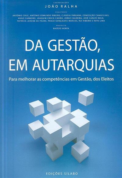 Da gestão, em autarquia (João Ralha)