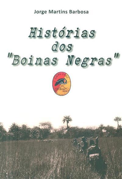 """Histórias dos """"Boinas Negras"""" (Jorge Martins Barbosa)"""