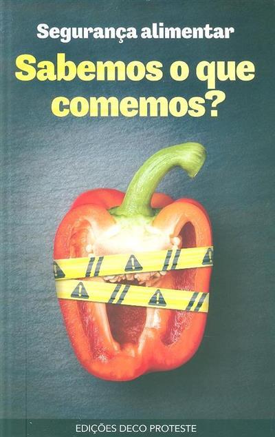 Sabemos o que comemos? (trad. Sandra Pereira Cardoso)