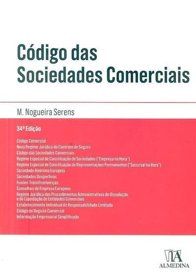 Código das sociedades comerciais (compil. M. Nogueira Serens)