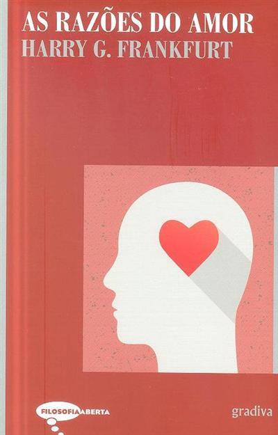 As razões do amor (Harry G. Frankfurt)