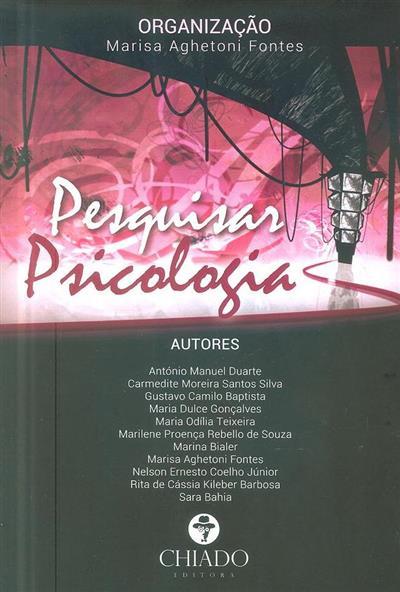 Pesquisar psicologia (org. Marisa Aghetoni Fontes)