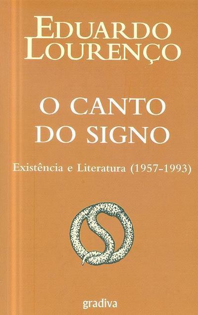 O canto do signo (Eduardo Lourenço)