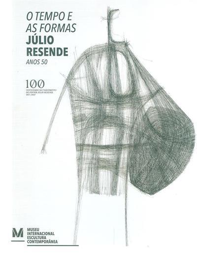 O tempo e as formas (textos Joaquim Couto, Álvaro Moreira, Laura Castro)