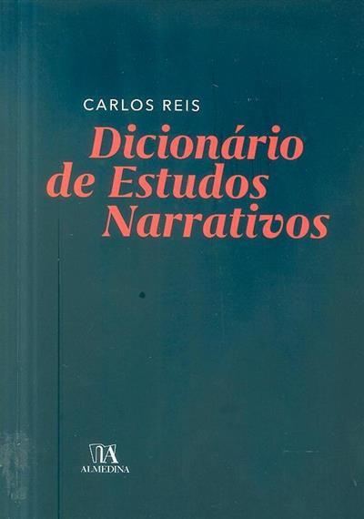 Dicionário de estudos narrativos (Carlos Reis)