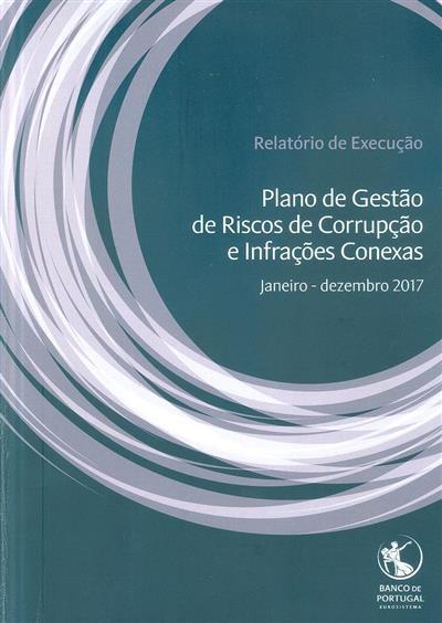 Plano de gestão de riscos de corrupção e infrações conexas (Banco de Portugal)