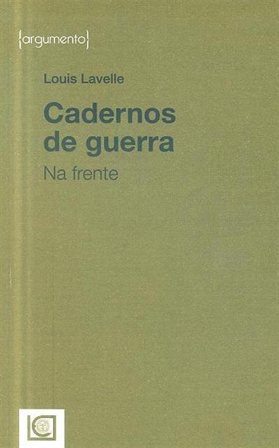 Cadernos de guerra (Louis Lavelle)