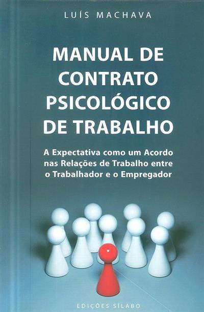 Manual de contrato psicológico de trabalho (Luís Machava)