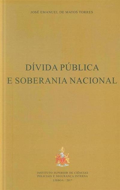 Dívida pública e soberania nacional (José Emanuel de Matos Torres)