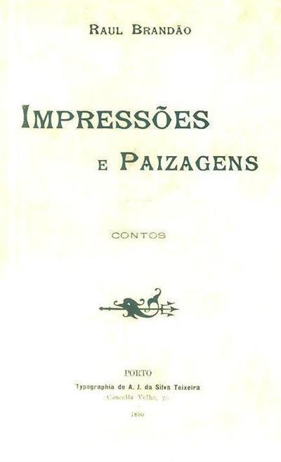 Impressões e paizagens (Raul Brandão)