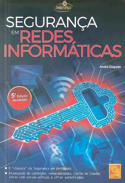 Segurança em redes informáticas (André Zúquete)