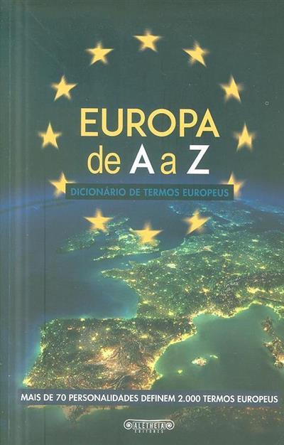 A Europa de A a Z (coord. Carlos Coelho)