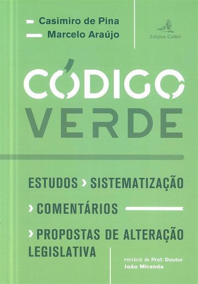 Código verde (Casimiro de Pina, Marcelo Araújo)