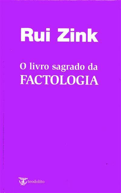 O livro sagrado da factologia (Rui Zink)