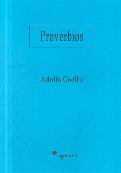 Provérbios (Adolfo Coelho)